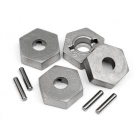 17mm Hex and Pin Set (4pcs)