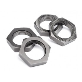 WHEEL NUT 24mm (GUNMETAL/4pcs)
