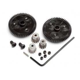 SPUR GEAR SET (2PCS)/PINION...