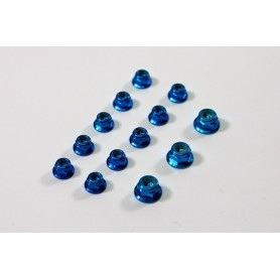 Alu Nut Set blue (13 pcs)...