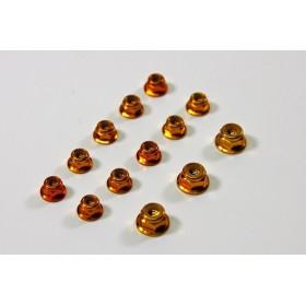 Alu Nut Set gold (13 pcs)...