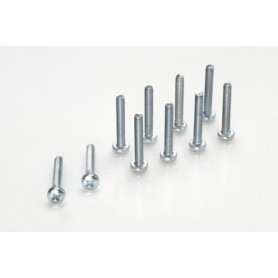 Pan head screw, M3X8,...