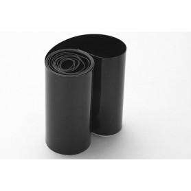Shrink tubing 91mm, black (1m)