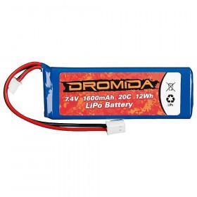 Bateria de LiPo 1600mah 2S...
