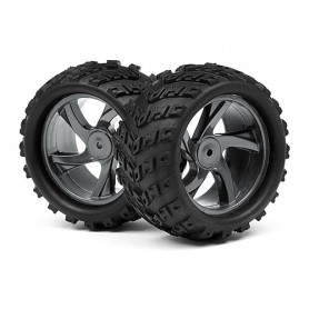 1/18 Monster Truck Wheel and Tyre Assembly - MV28055