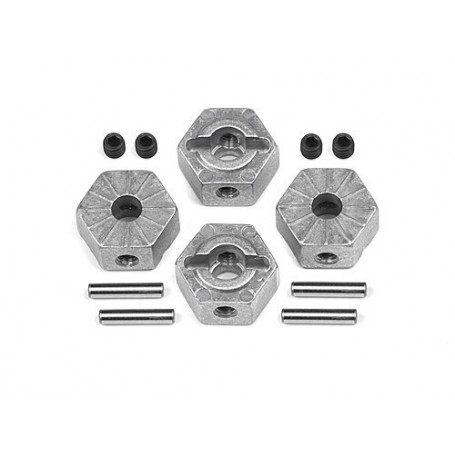 LOCKING HEX WHEEL HUB 12MM (4PCS)