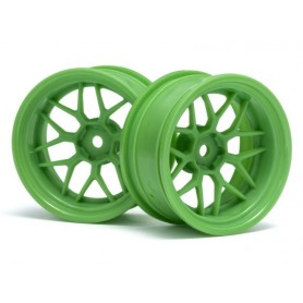 TECH 7 WHEEL GREEN 52X26X+9MM OFFSET - HPI-116532