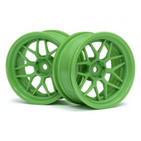 TECH 7 WHEEL GREEN 52X26X+6MM OFFSET - HPI-116531