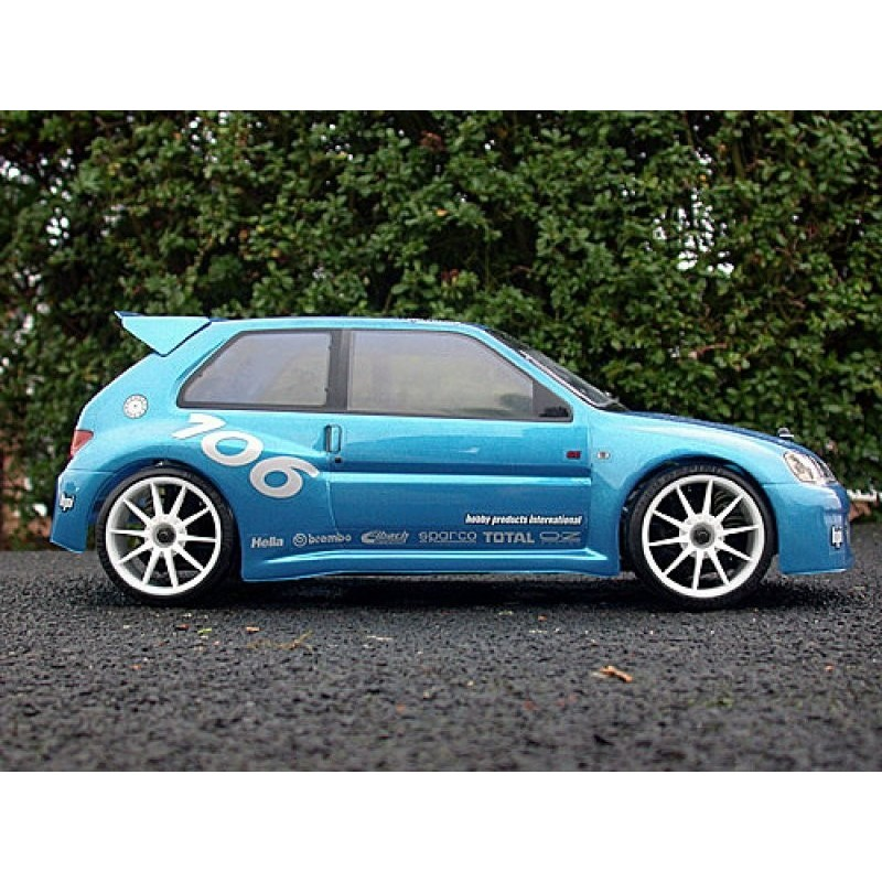 EU Peugeot 106 Maxi Body 190mm/WB 237mm/ Clear) - HPI-7241