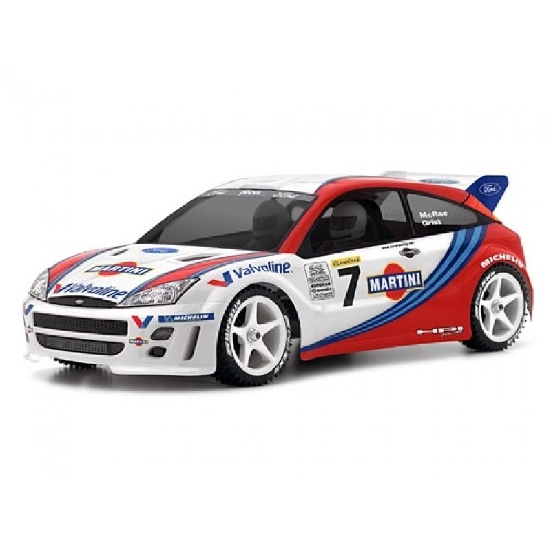 FORD FOCUS WRC BODY - HPI-7412