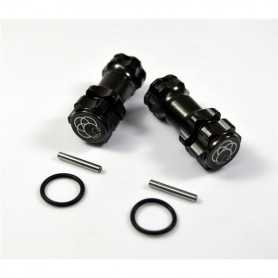 Car extention hub 1/8, Gun metal - 2560022
