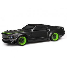MICRO RS4 1969 FORD MUSTANG RTR-X 1/18 4WD ELECTRIC CAR - HPI-112468