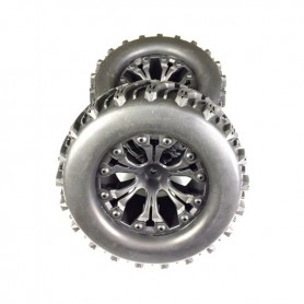 Wheel Set Monster Truck off-road black 1:10 - 2500017