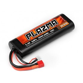 HPI Plazma 7.4V 3000mAh 20C Lipo Round Case Stick Pack Re-Ch - HPI-101940