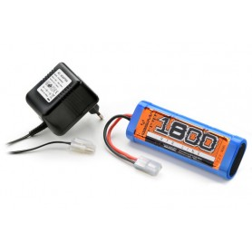 NiMH Racing Pack 1800mAh + Plug-in Charger - 4200001
