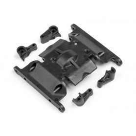 CENTER SKID PLATE SET - HPI-116845