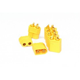 XT-60 Plug Set 2x Male - 5x Female - 3040028