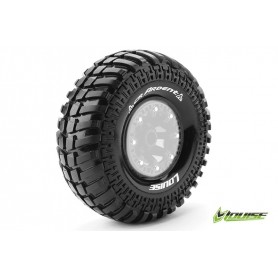 "CR-ARDENT 1:10 Crawler Tires Super Soft for 2.2"" Rims 1 Pair - LR-T3237VI"