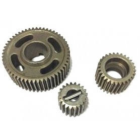 Steel Transmission Gear Set 20T/28T/53T - RC13859