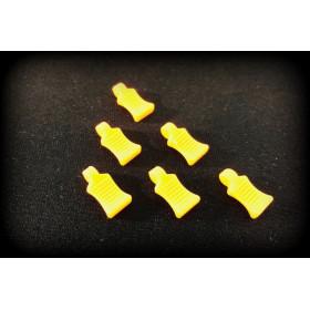 Rubber Pin Grip - neon orange - 2440055