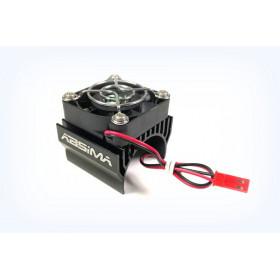 Metal Top Heatsink with fan for 1:8 up to ø40mm , black - 2310036