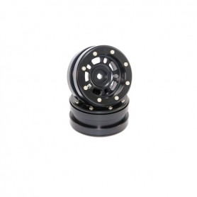 Beadlock Wheels PT- Distractor Black/Black 1.9 - MT0040BB