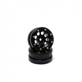 Beadlock Wheels PT- Ecohole Black/Black 1.9 - MT0050BB