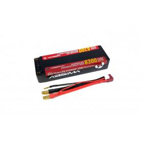 Absima//Team C RX Lipo Hump 2 S 7,4 V Uni-Plug 2500 SC //4110006