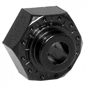 12mm Aluminum Hub (Black)...