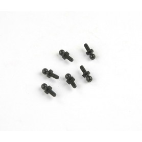 4-40 Ball 4.3x13mm (Black)...