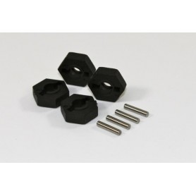 Hex Wheel Hub & Pin (4 pcs)...