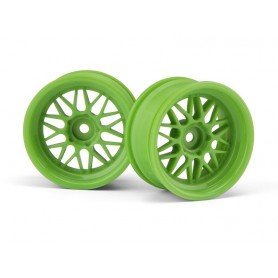 HRE C90 WHEEL 26MM GREEN...
