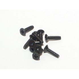 Tp.Flat Head Screw M3x12mm