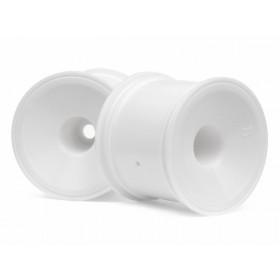 DISH WHEEL WHITE (2.2in/2pcs)