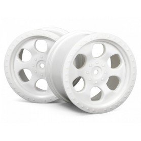 6 SPOKE WHEEL WHITE...