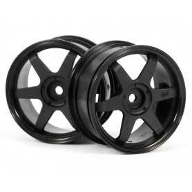 TE37 WHEEL 26MM BLACK (0MM...
