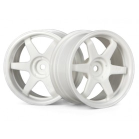 TE37 WHEEL 26MM WHITE(3MM...