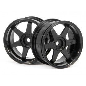 TE37 WHEEL 26MM BLACK (6MM...