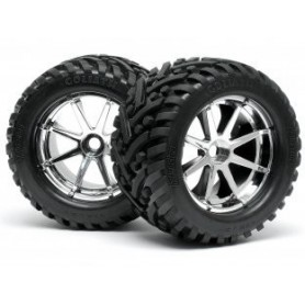 MOUNTED GOLIATH TYRE...