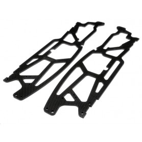 LOW CG CHASSIS GRAPHITE (3mm)-HPI-73831