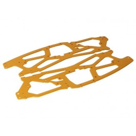 MAIN CHASSIS 2.5MM (GOLD/2PCS)