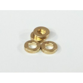 Washer 5x10x3mm (Brass/4pcs)