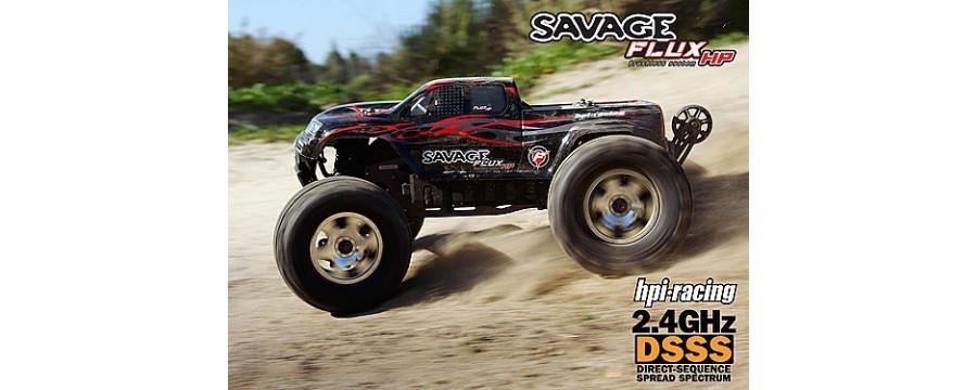 Peças - HPI Racing - Savage Flux HP 1/8