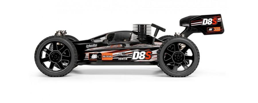 Peças - HPI Racing - D8S 1/8