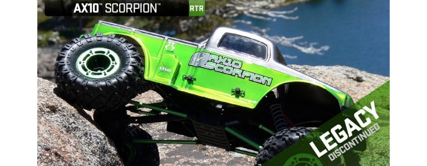 Peças - AXIAL RACING - Axial Scorpion RC Comp 10 - 1/10th Scale Rock Crawler