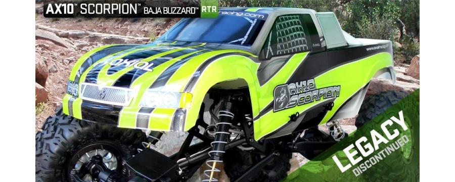 Peças - AXIAL RACING - Axial Scorpion Rock Racer - 1/10th Scale Rock Crawler