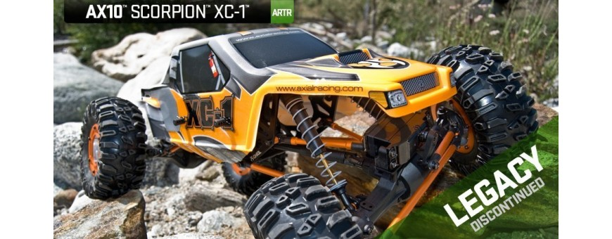 Peças - AXIAL RACING - Axial Scorpion ARTR - 1/10th Scale Rock Crawler