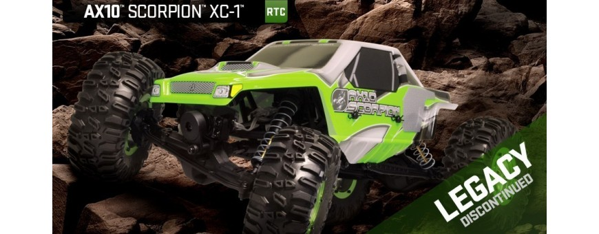 Peças - AXIAL RACING - AX10 Scorpion RTR Rock Crawler 1/10th Scale Electric