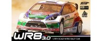 Peças - HPI Racing - Wr8 3.0 Ford Fiesta Abu Dhabi Castrol Wrc Nitro Rally Car 1/8