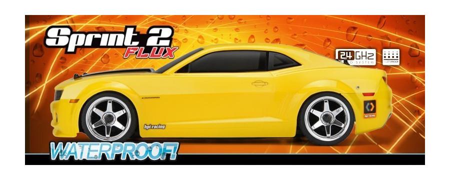 Peças - HPI Racing - Sprint 2 Flux w/ 2010 Chevrolet Camaro 1/10